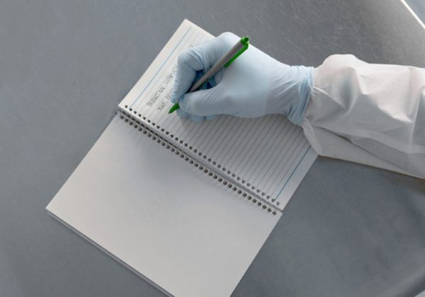 Clean Image Cleanroom Notebook