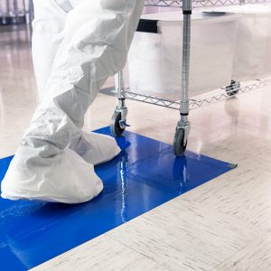 Tacky Mat For Cleanroom